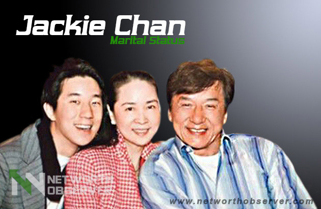 What is the Marital Status of Jackie Chan