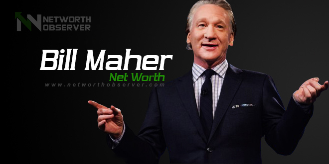 Photo of Bill Maher Net Worth