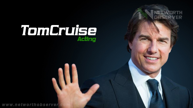 How did Tom Cruise turn into Acting?