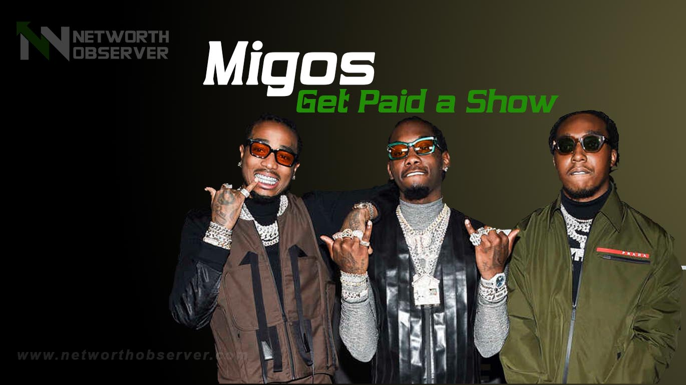 How Much Migos Get Paid a Show