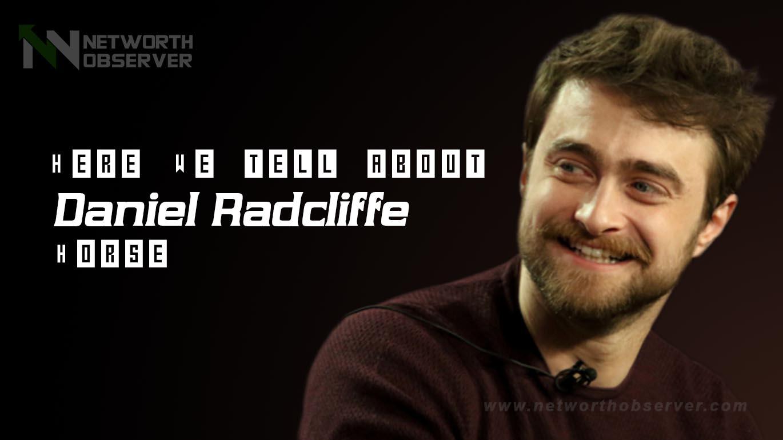 Daniel Radcliffe Horse