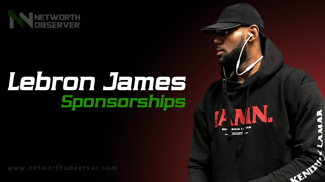 Photo of Lebron James Sponsorships