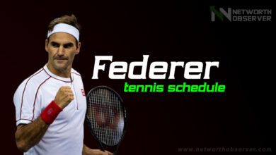Photo of Federer tennis schedule