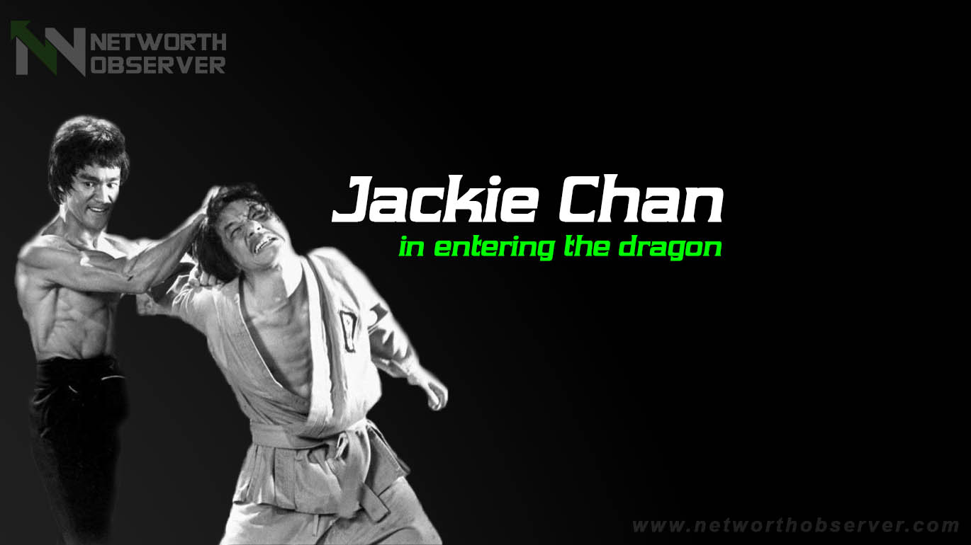 Jackie Chan in entering the dragon