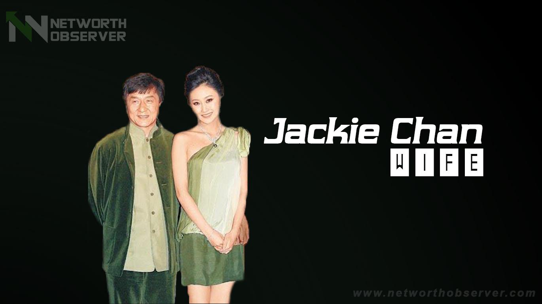 Jackie Chan wife