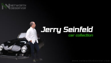 Photo of Jerry Seinfeld car collection